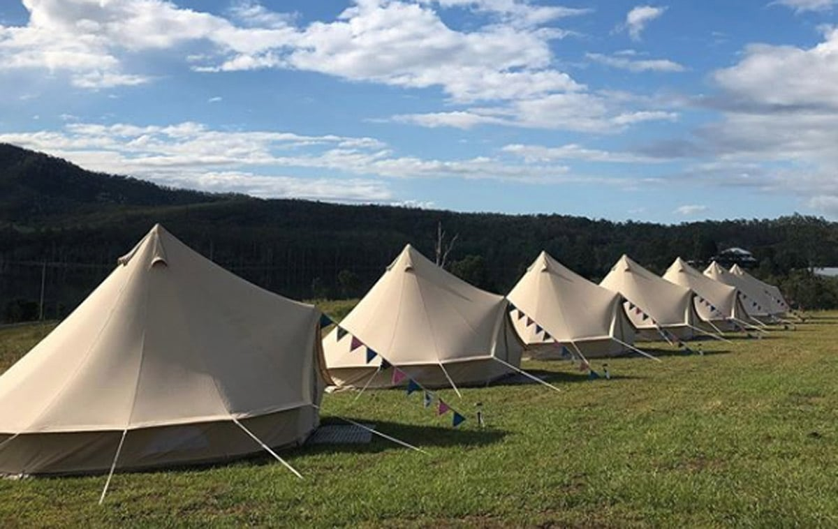 Tipi Glamping Brisbane Sunshine Coast Gold Coast same-sex wedding and elopment hire (3)