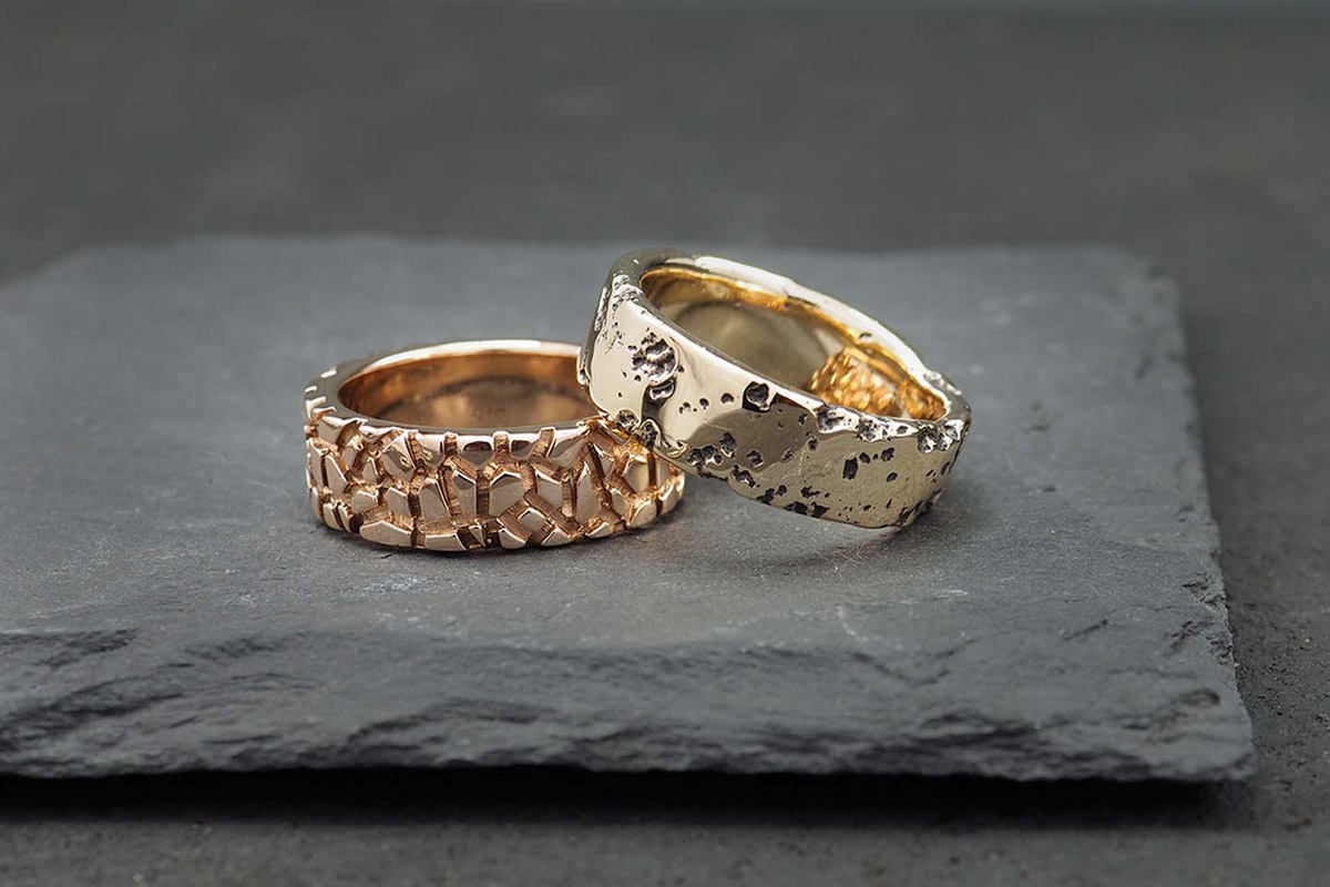 Albert Tse Metalsmith yellow gold, rose gold same-sex wedding and engagement jewellery or jewelry rings Australia Sydney Dancing With Them (7)