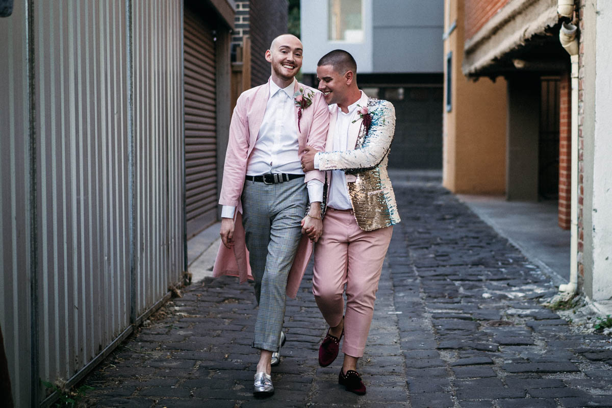 Anna Taylor Lulu & Lime LGBT+ Queer same-sex wedding and elopement photography Melbourne, Victoria Dancing With Them (7)