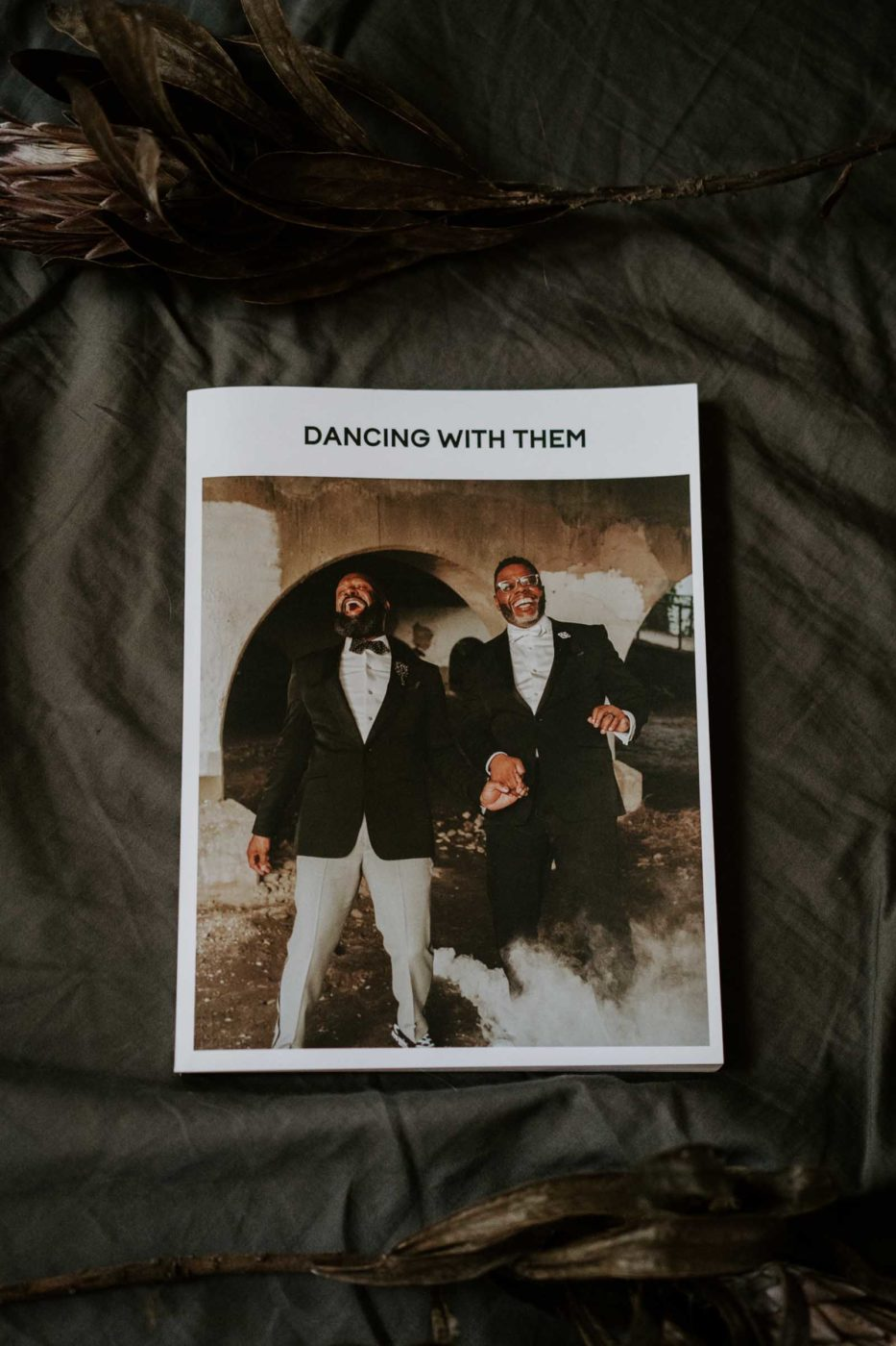 Dancing With Them Volume One Fox & Kin Photography gay two grooms queer trans couples wedding elopement magazine America Australia Europe (6)
