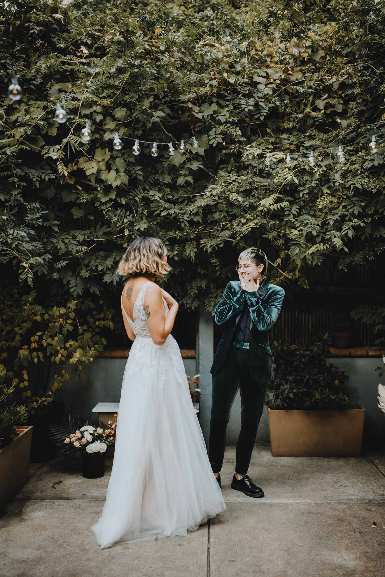 Lucie B. Photo Brooklyn New York City lesbian gay queer lgbtq+ couple love elopement Dancing With Them magazine (2)