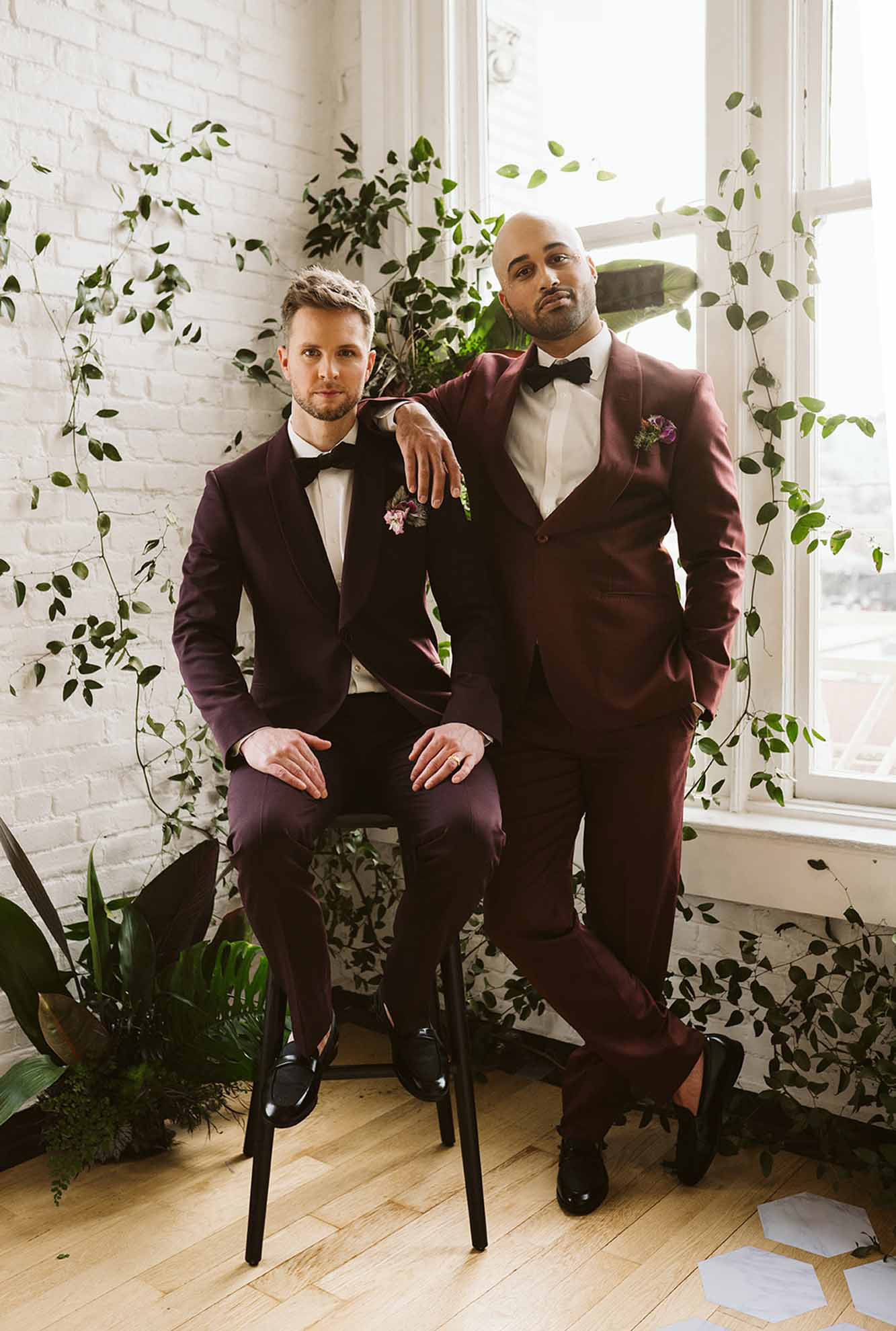 Rachel Brookstein Portland Oregon USA gay two grooms MR & MR wedding elopement Dancing With Them magazine