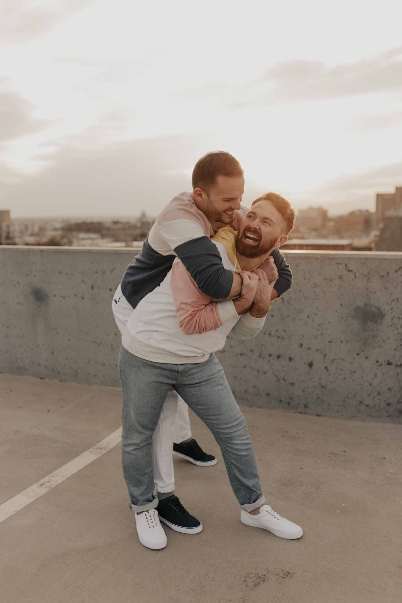 Grayson Taylor Photography Oklahoma City American gay same-sex lgbtq+ wedding love proposal photographer Dancing With Them